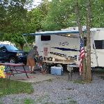 Clabough's Campground resmi