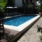 Clean pool area