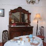 Breakfast room - enjoy a leisurely Welsh breakfast.