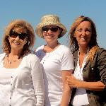 Lana and Laura with Stefania, our tour guide