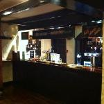 bar (sorry it looks so dark, my camera phone isn't very good)