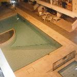 Pool at night time - view from our balcony