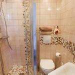 small private little bathroom with shower