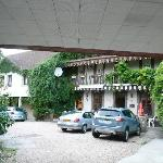 Le Cygne Hotel and car park