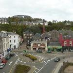 view from the room - OBAN DESTILLERY