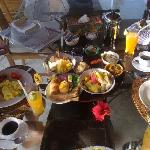 Breakfast served in the villa at a time of your choosing - delicious way to start the day!