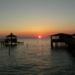 Mobile Bay Sunset from my Pier