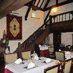  The dining room inside