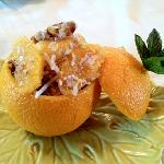 stuffed oranges - just the first course!