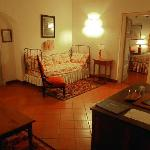 The entaining or waiting room was a part of our Ministro suite.