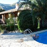 The pool and the finca
