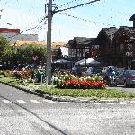  Vista del centro de Pucon.