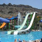 the waterpark!