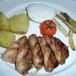 duck with yogurt sauce