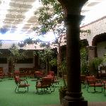  Breezeway of Conference Center - great wi-fi connection!