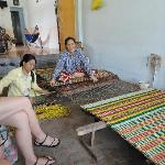 Mat making on the Discover Vietnamese Rural Life tour