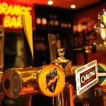  The &quot;Orange&quot; Bar at The Bond Hotel, Blackpool