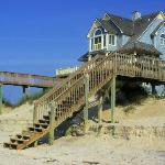 North Topsail Beach dune house