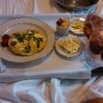 My $12 room service breakfast - amazing