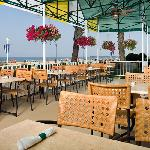Key West Patio features oceanfront dining