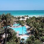 The Riu - SoBe...view from my room...awesome!