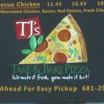 TJ's Take & Bake Pizza Co.