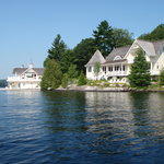  Una &quot;boat house&quot; del lago Rosseau