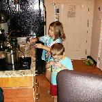 Kid-friendly kitchen in 2-bed Studio