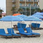  Umbrella-chairs unit rent for $25 per day
