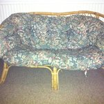  Tatty old sofa