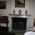 Fireplace & Piano