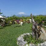  Il giardino con vista sull&#39;Etna