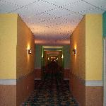 HALLWAY OUTSIDE OUR ROOM