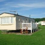 our lovely caravan
