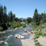 Walk to the Truckee River.