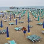  the beach at siesta time, Lignano