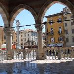  one of the piazzas in Udine