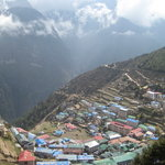 City of Namche Bazaar