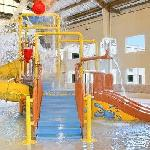  Kids aqua waterpark area.
