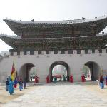 The Gyeongbokgung Palace is just a walking distance away from the hotel