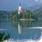  Church in Middle of Lake