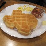 Texas-shaped waffles!