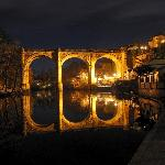 viaduct by night