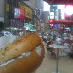 bagel in times square