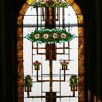  Just one of the stained glass windows
