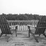 ADK chairs on the dock