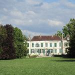 Chateau du Juvigny - view from the park