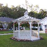  gazebo outside our building