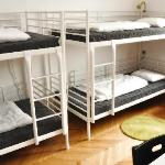  Our spacious four-bed dormitory