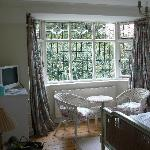  Our beautiful bedroom at The Croft